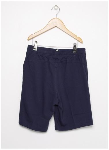 Puma Puma 85443706 Essentials Jersey Shorts Erkek Çocuk Şort Lacivert